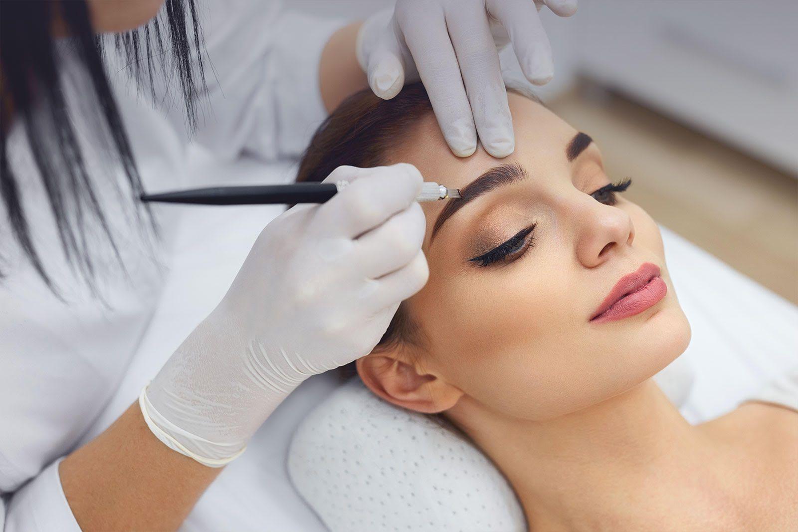 Microblading Classes Постоянный макияж, Макияж бровей