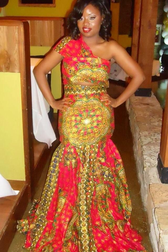 African wedding dresses african wedding inspirations for African traditional wedding dress styles