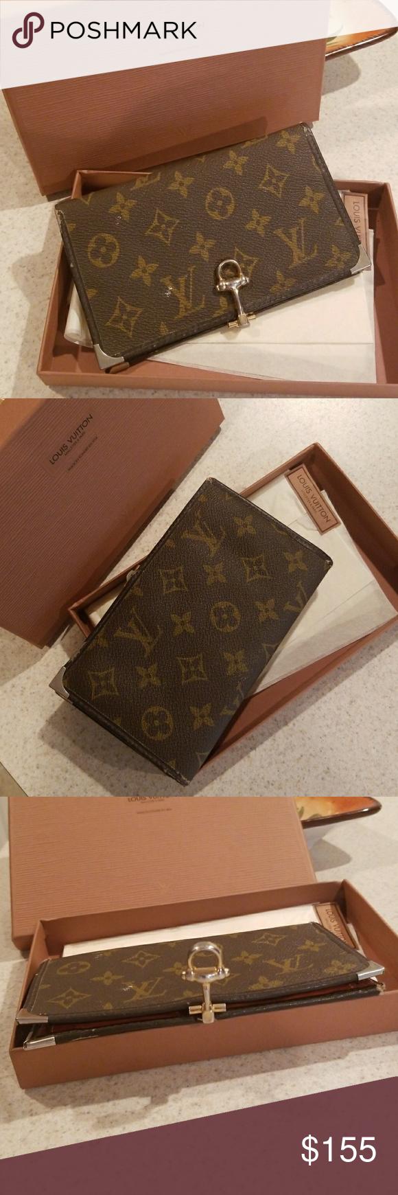 Authentic Vintage Louis Vuitton Wallet Vintage Louis Vuitton Louis Vuitton Wallet Louis Vuitton