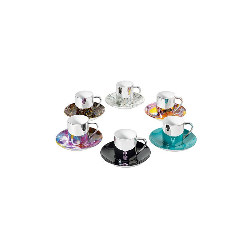 Cup and Saucer Set by Damien Hirst $125