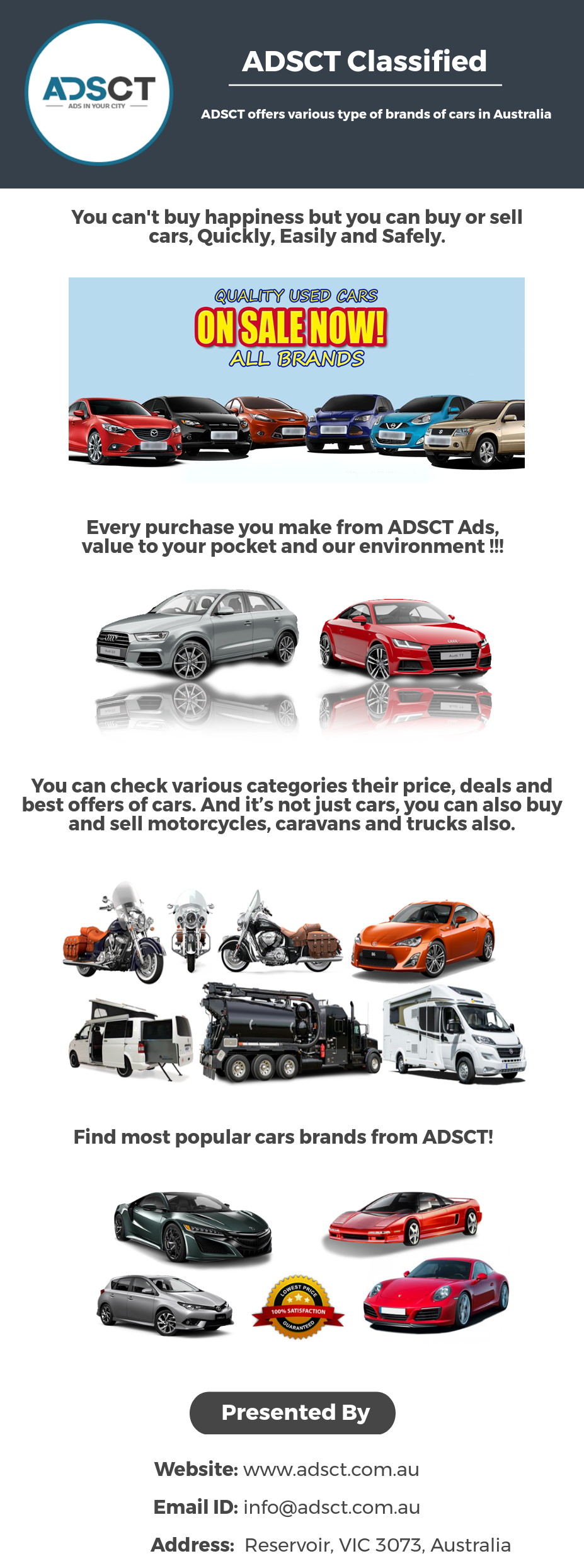 Whether you are looking to buy or sell your an old car or a new car ...