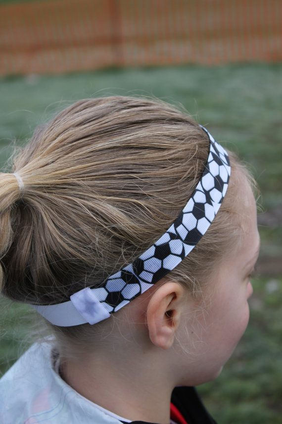 Soccer headband - No slip for active girls ce69de35487