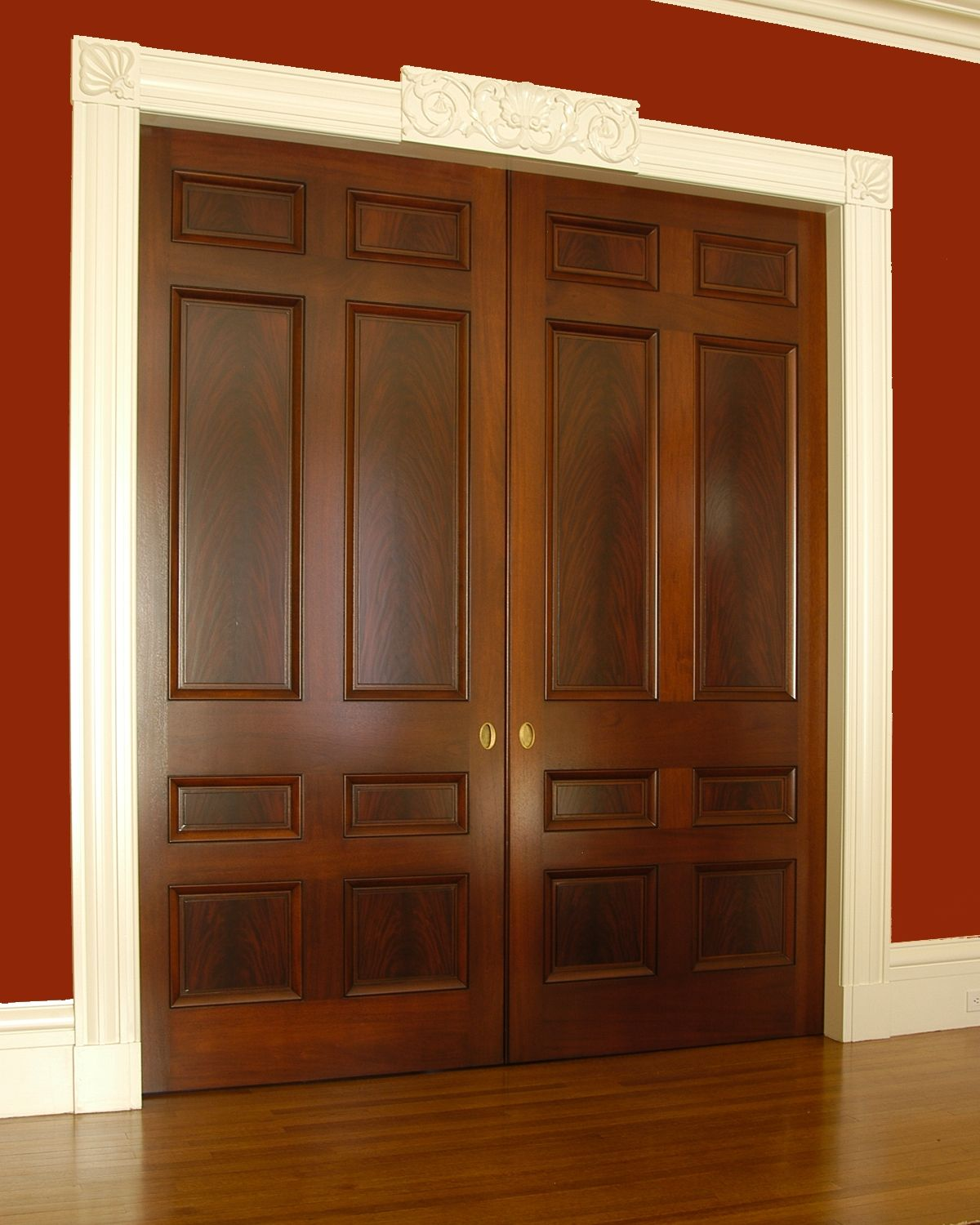 Interior double doors office den pinterest interior for Custom interior doors