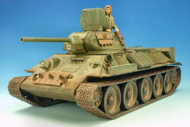 T-34/76 Model 1941 by Luciano Rodriguez (Tamiya 1/48)