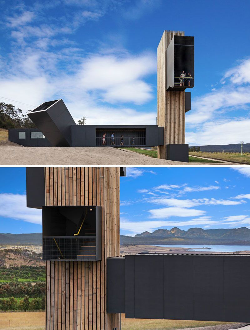 This vineyard built a lookout tower with amazing views for