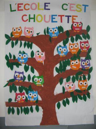 Épinglé par Celia sur Rentrée | Idées d'école, Chouette et ...