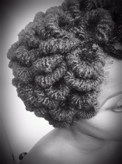 pipe cleaner curl loops natural