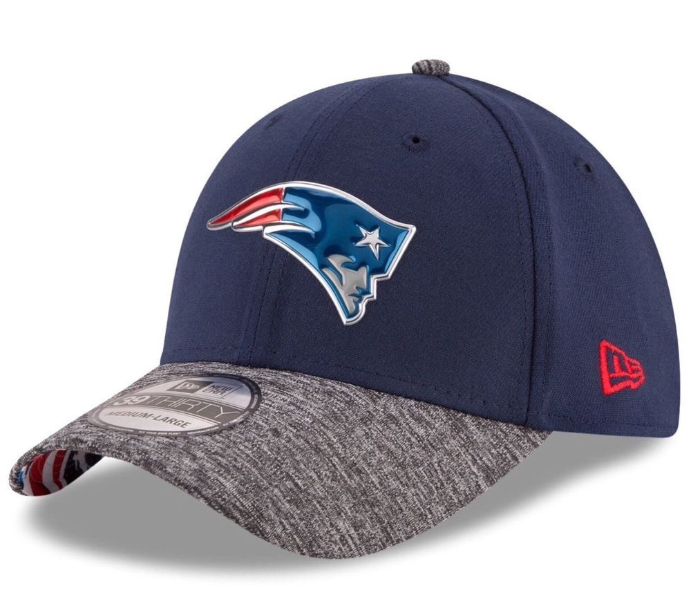 0899835cb73f8 New England Patriots New Era 39Thirty Draft Reverse L XL Flexfit Cap Hat   NewEra  NewEnglandPatriots