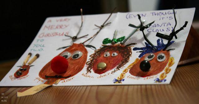 To my deer family haha XD - Great idea for a #Christmas #Card