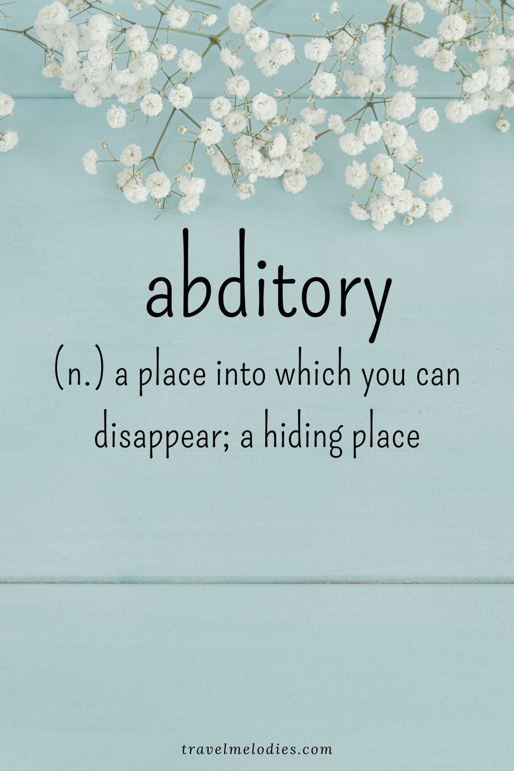 Beautiful Words to Spruce Up your Vocabulary - Travel