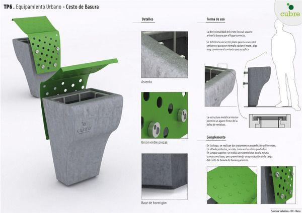 Equipamiento urbano on behance mobiliario urbano for Equipamiento urbano arquitectura pdf