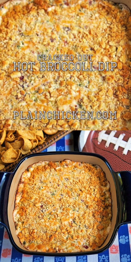 Cracked Out Hot Broccoli Dip Recipe