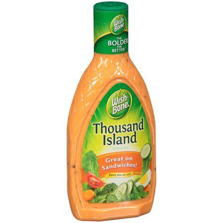 Wishbone Thousand Island Dressing 16 Fl Oz Bottle Walmart Com Salad Dressing Light Salad Dressing Thousand Island Dressing
