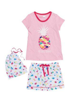 817b5a531 Chloe SS Girls PJ set PRINCESS DREAM KIDS NIGHT WEAR