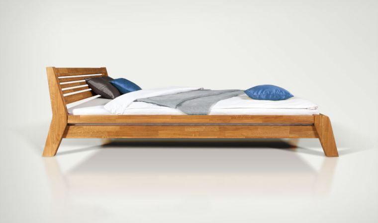 superior cadre de lit pas cher meubles lit bois lit. Black Bedroom Furniture Sets. Home Design Ideas
