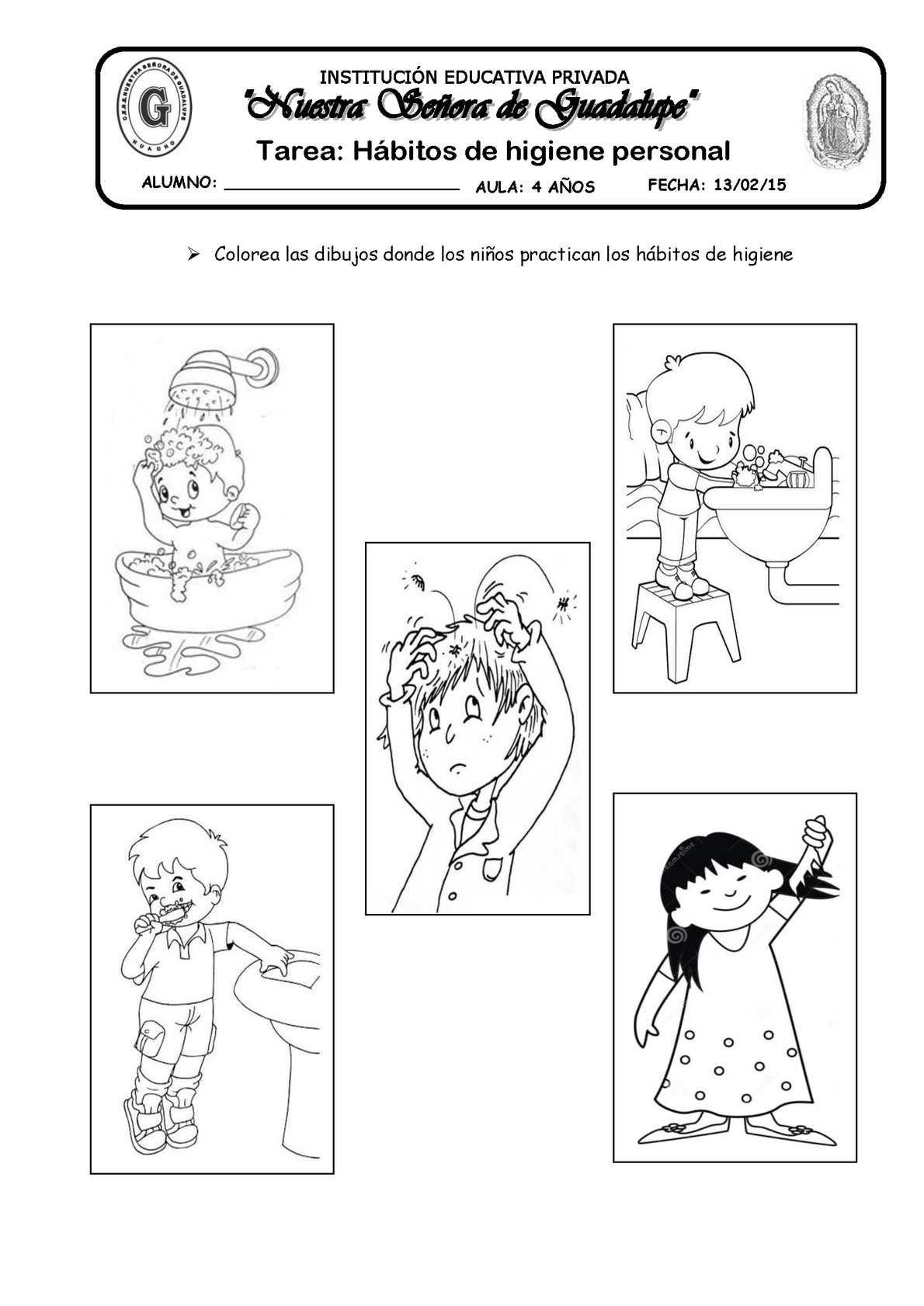 Tarea Habitos De Higiene Personal