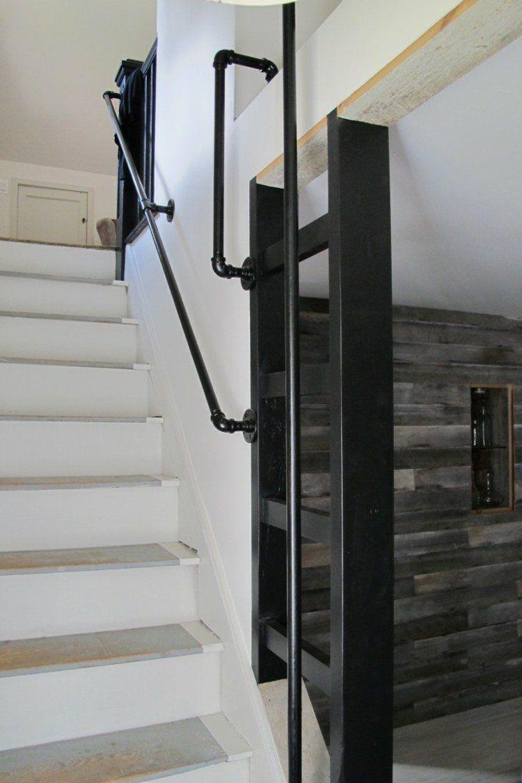 Rampe Escalier Interieur Moderne Luxe Rusé Maison Interieur Bois ...