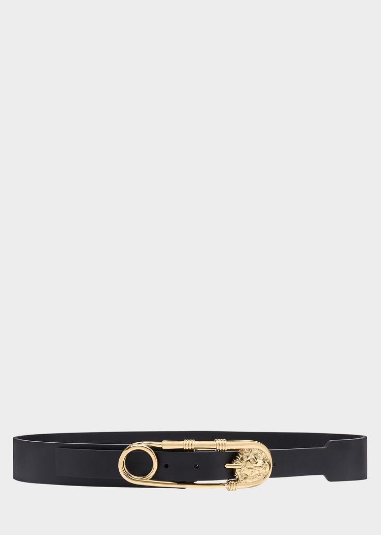 Versus Versace Gold Tone Safety Pin Belt for Women  3360015f03c8d