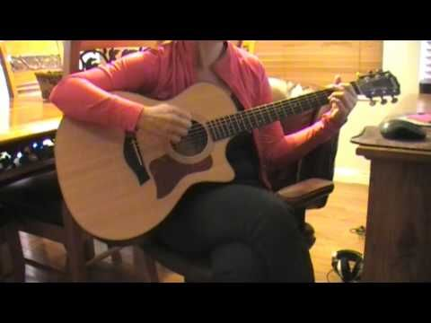 Easy guitar strumming pattern for Taylor Swift\'s hit \