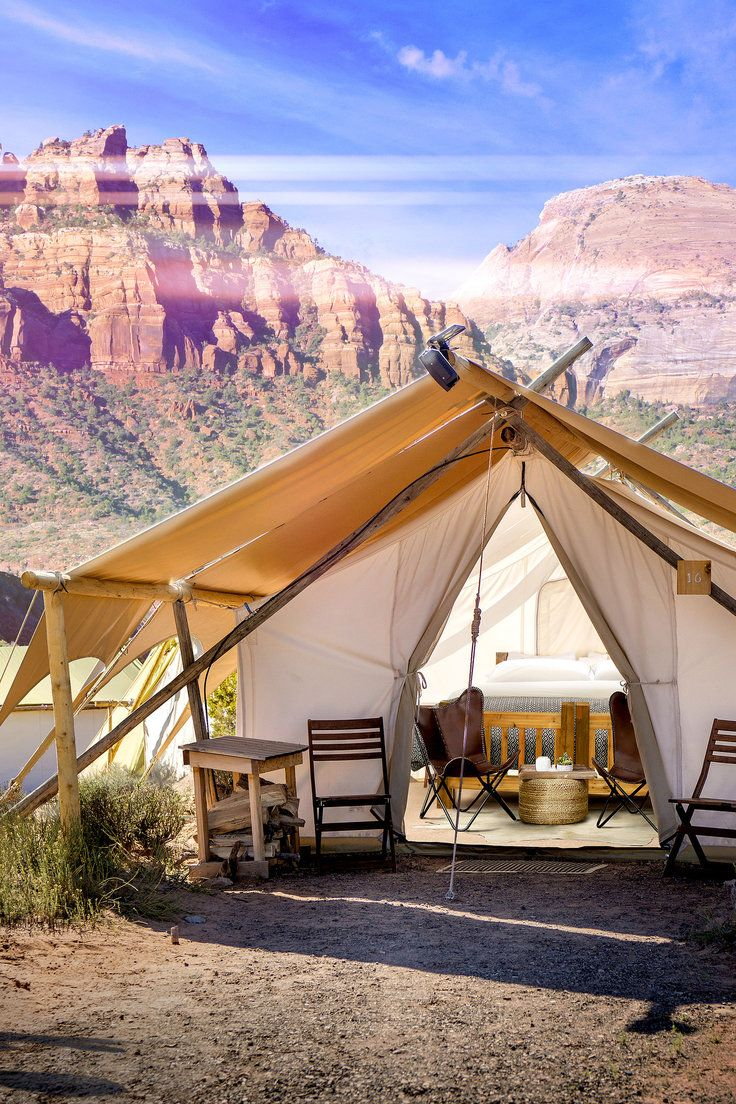 Under Canvas Zion, Utah | Get Me Outta Here | Glamping, Utah