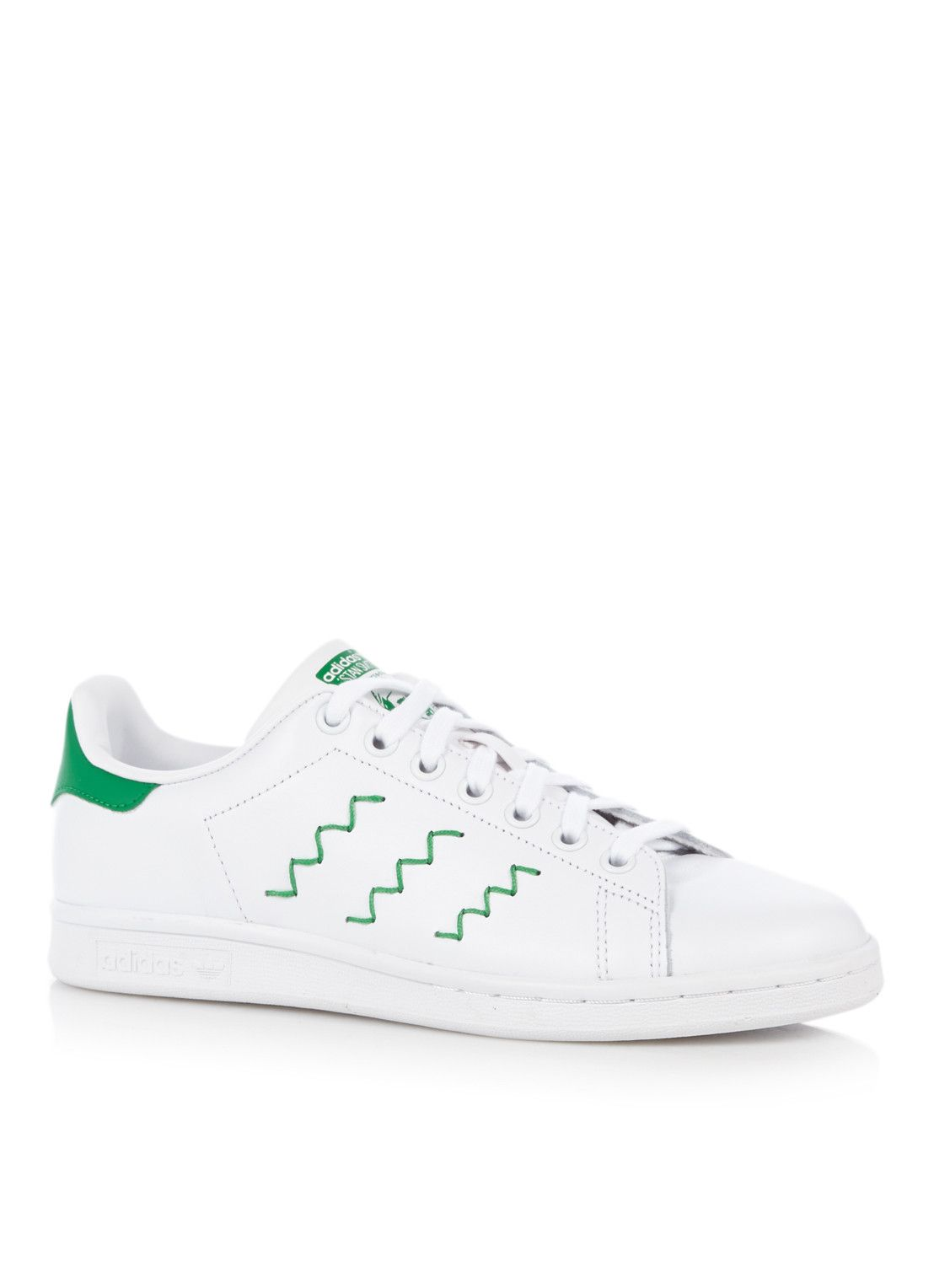 adidas stan smith zigzag groen