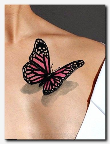 Pink Butterfly Tattoos : butterfly, tattoos, Butterfly, Tattoo, Tattoos, Women,, Designs,