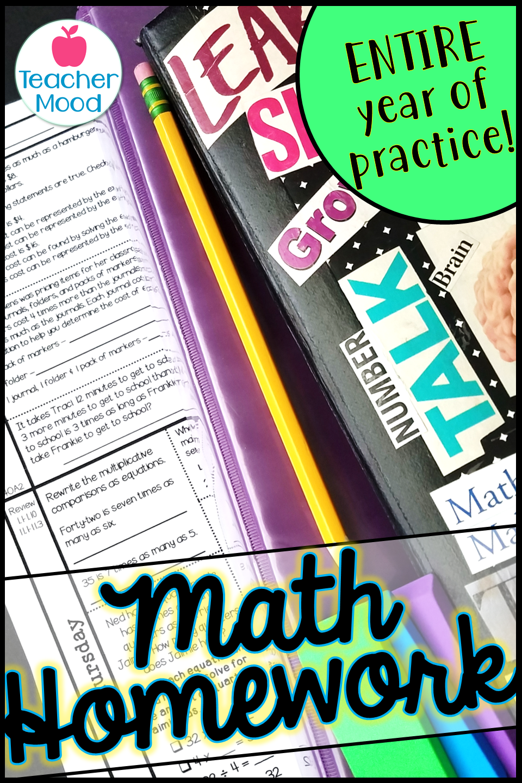 4th Grade Math Practice Worksheets Math Practice Worksheets Math Homework Math Spiral Review [ 1440 x 960 Pixel ]