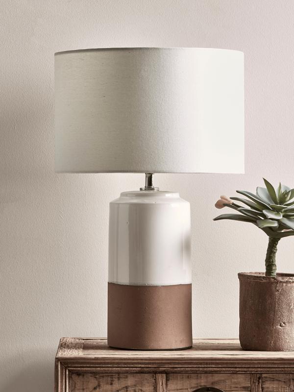 New Dipped Terracotta Lamp Table Lamps Uk Table Lamp Ceramic