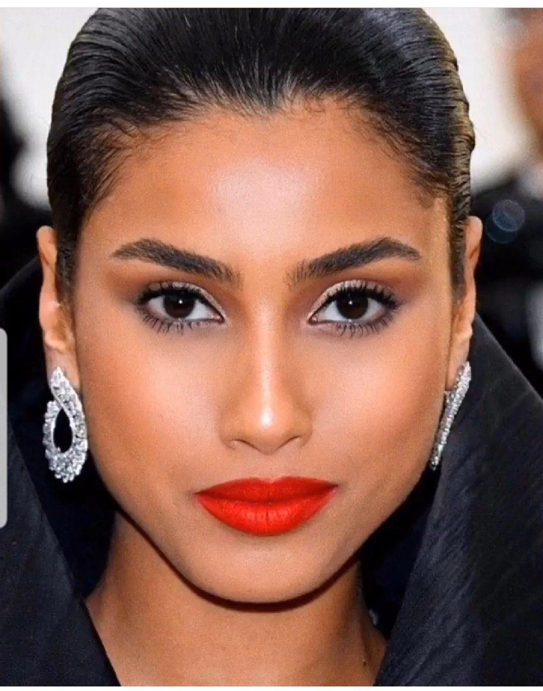 red lips makeup kim kardashian makeup, Makeup