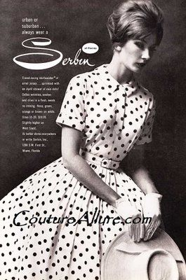 1000  images about Polka Dots on Pinterest  1960s dresses Polka ...