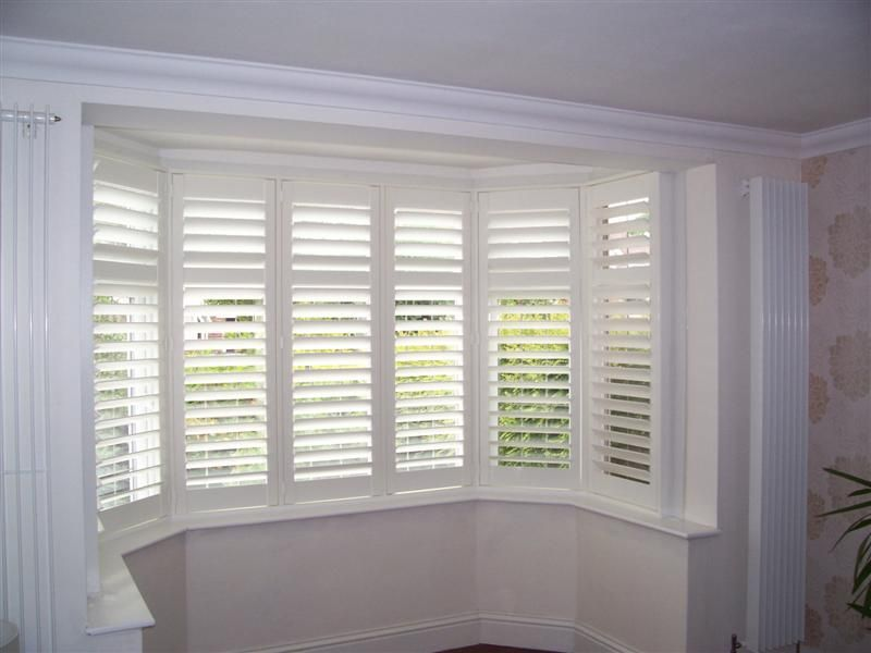 Plantation Shutters Bay Window Design Inspiration 217271 Decorating Ideas