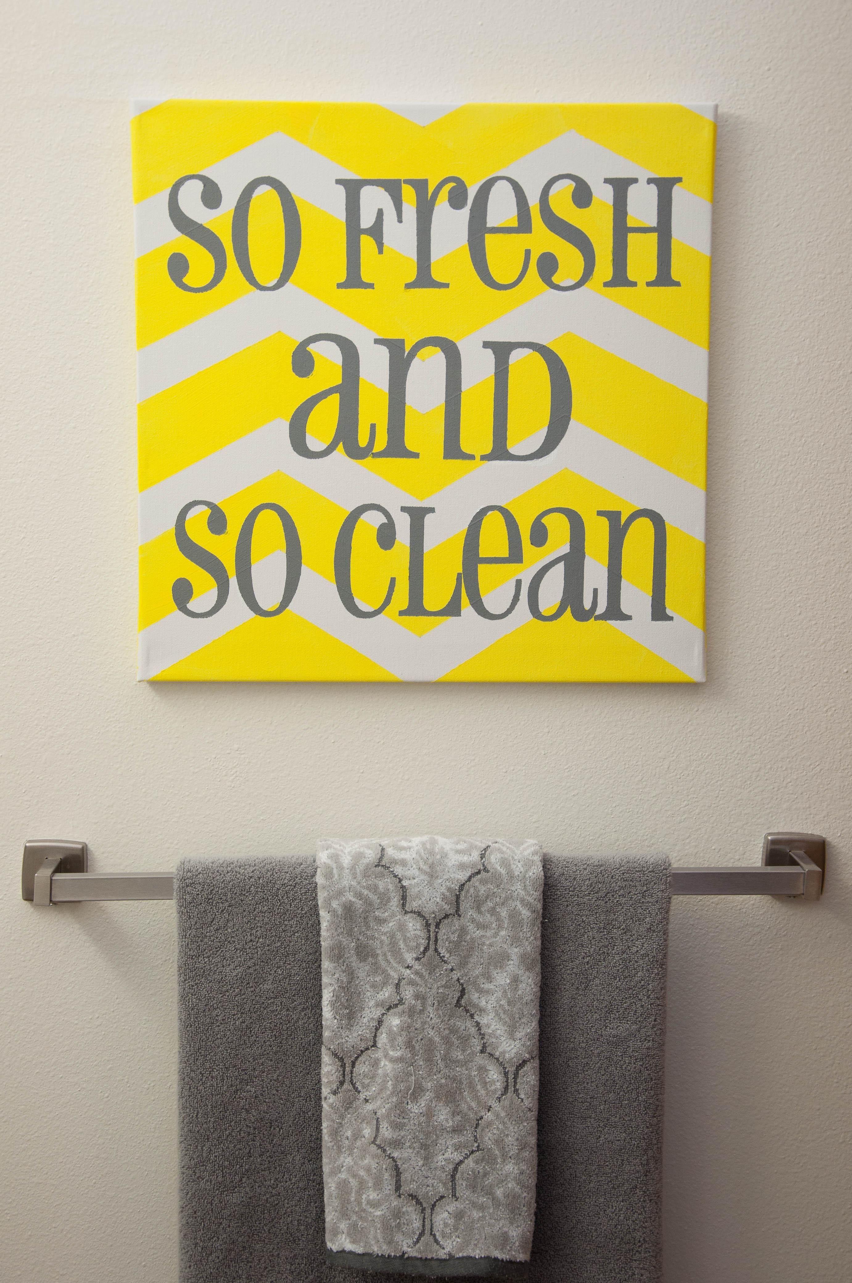Wonderful Yellow And Gray Bathroom Decor Part 5 Yellow And Gray Yellow Bathroom Decor Yellow Bathrooms Coral Bathroom Decor