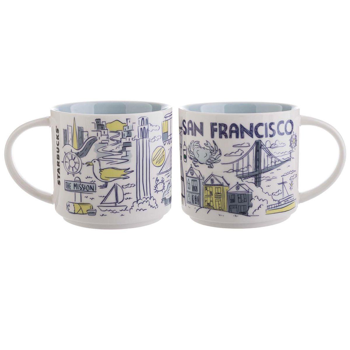 Starbucks Travel Mug San Francisco