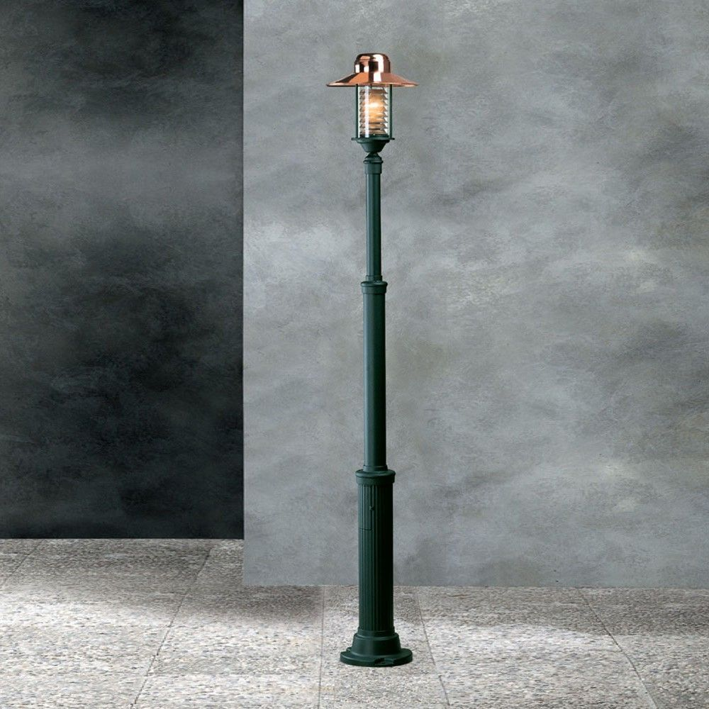 Garden-Light Futura Cuprum Lamp Post  Lamp Posts  Outdoor