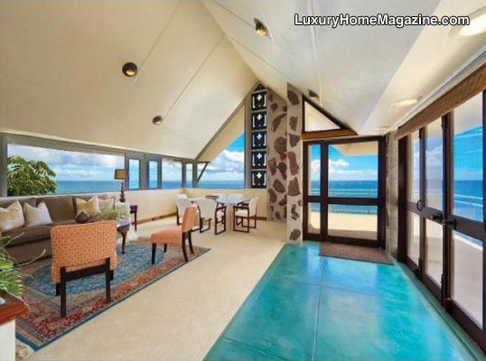 An Architecturally Significant Landmark In Honolulu. #realestate #luxury # Homes #interior #