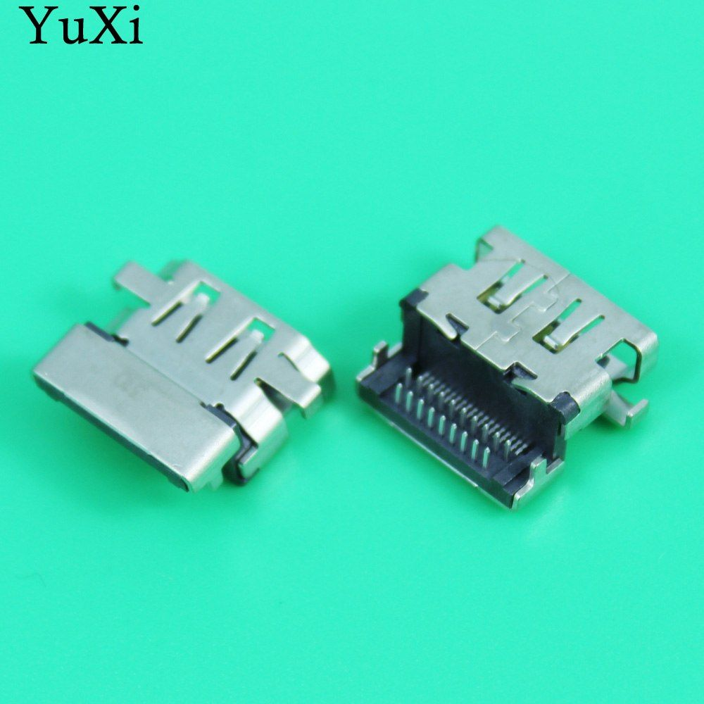 Yuxi New Replacement Hdmi Female Jack Pcb Socket Connector 19p Hdmi Port For Asus Lenovo Hp Samsung Etc Laptop Motherboard Laptop Motherboard Hdmi Asus