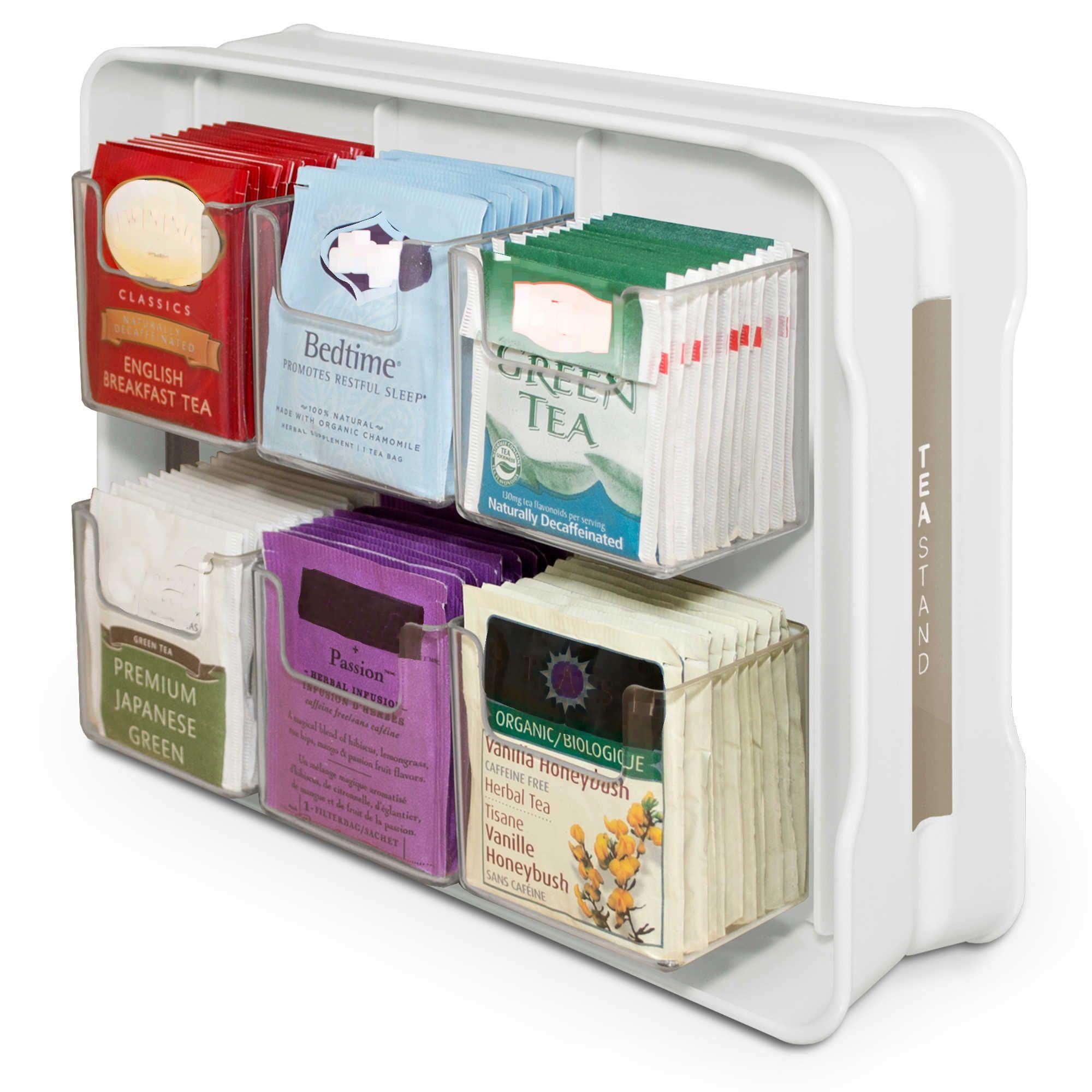 YouCopia® TeaStand® Tea Bag Organizer and Caddy