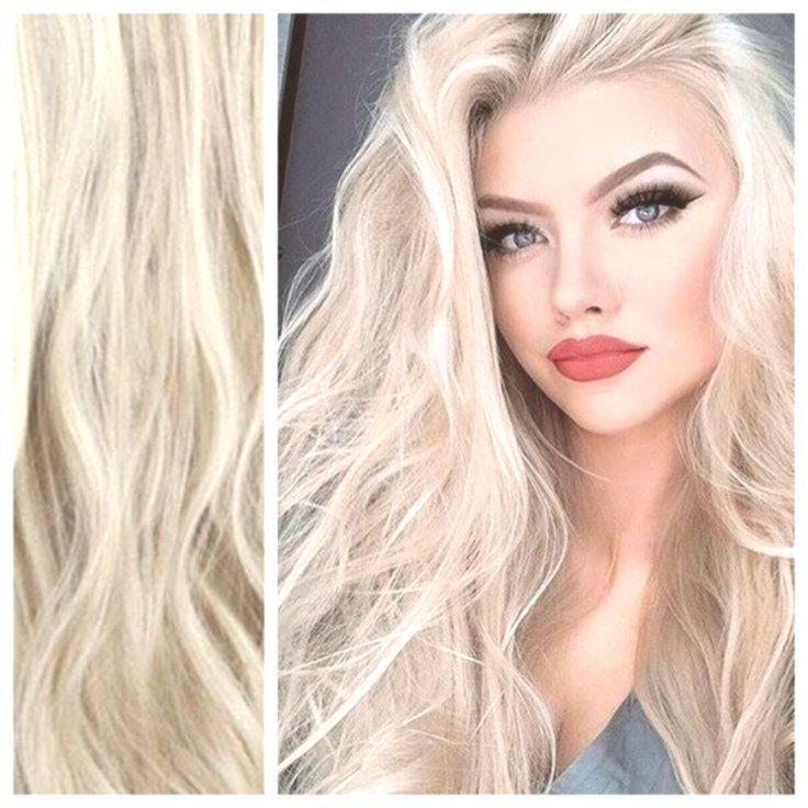 Ash Blonde Hair with Platinum Blonde Highlights Hair Extensions - Curly Hair 24 165g   - Hair #platinumblondehighlights Ash Blonde Hair with Platinum Blonde Highlights Hair Extensions - Curly Hair 24 165g   - Hair #platinumblondehighlights