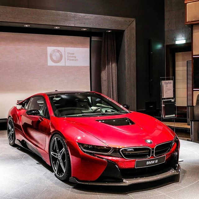 Instagram Media By Abudhabi Motors Lava Red I8 Kk Ph