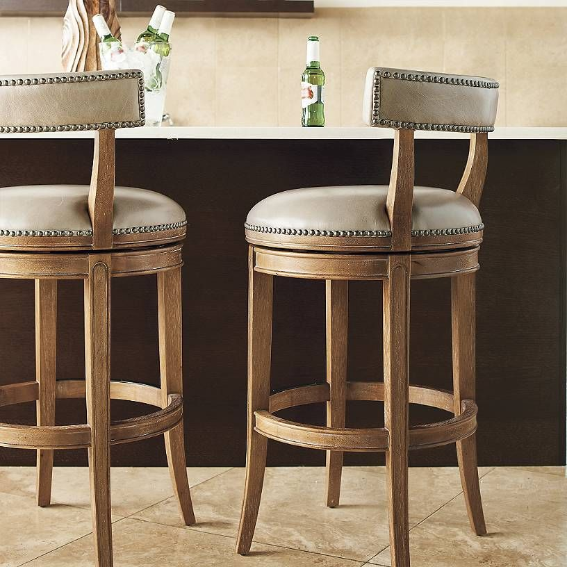 Henning Low Back Bar Counter Stools