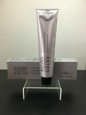 (Ad) Kenra Permanent Coloring Creme 3 oz 10SM Extra Light Blonde Silver Metallic
