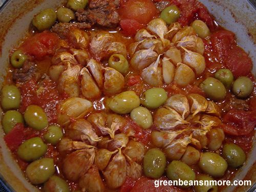 Morocco food garlic beef with cracked green olives moroccan morocco food garlic beef with cracked green olives moroccan tagine recipe forumfinder Image collections