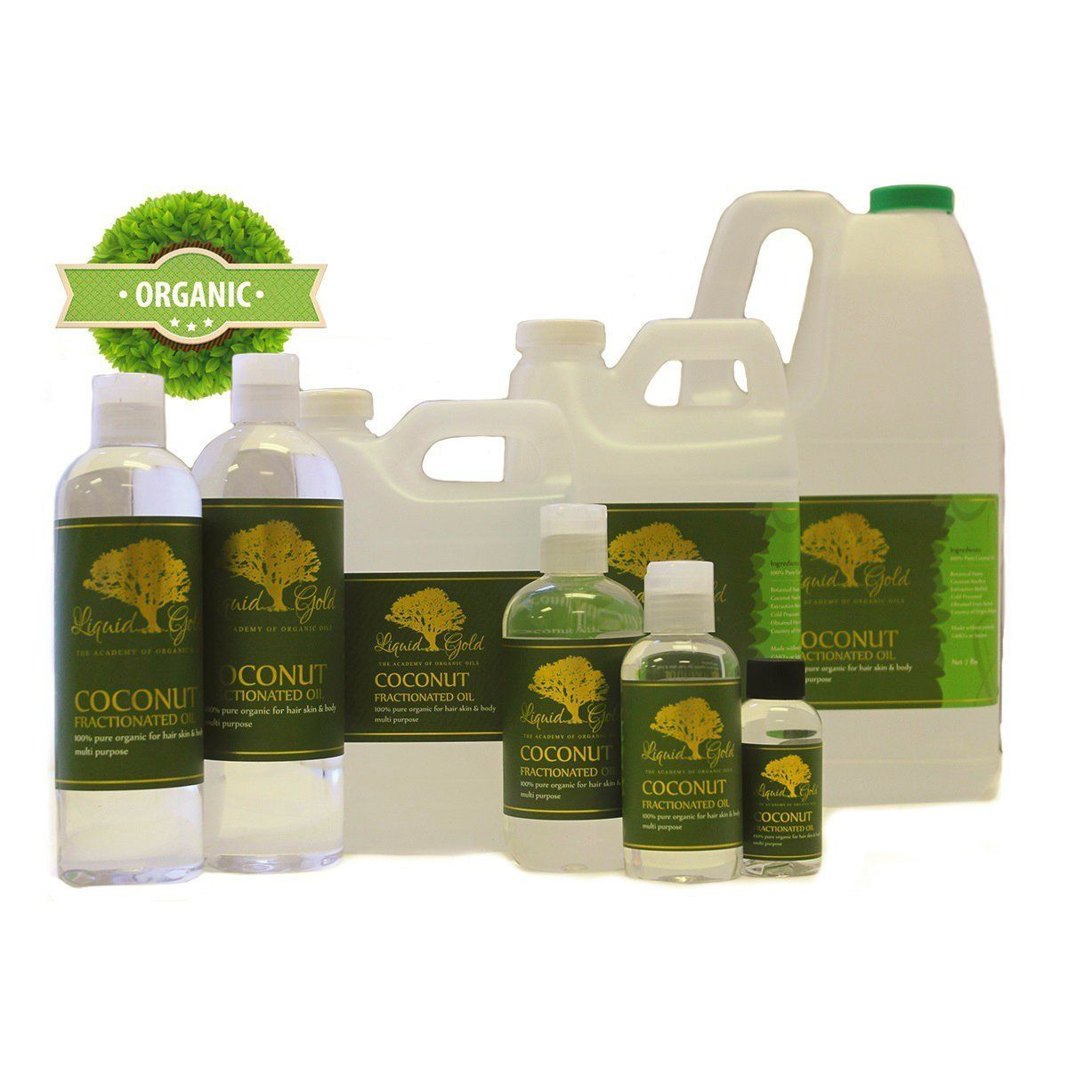 48 Fl oz Premium Fractionated Coconut Oil Hair Skin Care