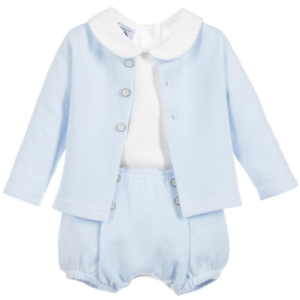 a5441c497 Babidu - Baby Boys 3 Piece Shorts Set | | Baby Clothes | Boys dress ...