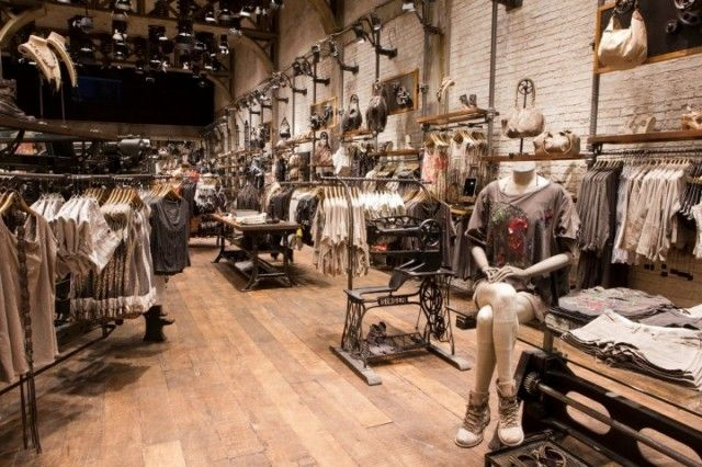 AllSaints Spitalfields Michigan Avenue Chicago3 | Studio EM Interior Design  Dubai, Dubai Interior Design company