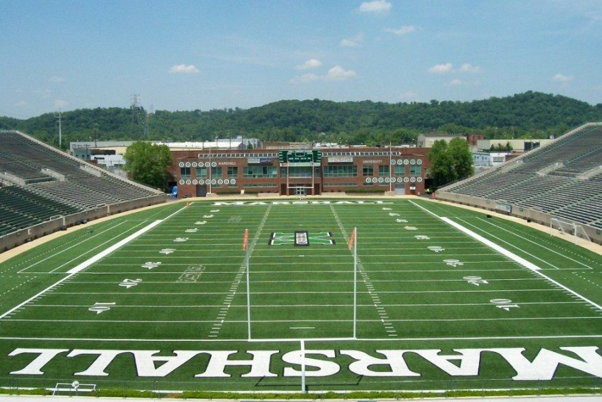 College Football 2011 Power Ranking All 120 College Football Stadiums In 2020 Football Stadiums Marshall University Marshall University Football
