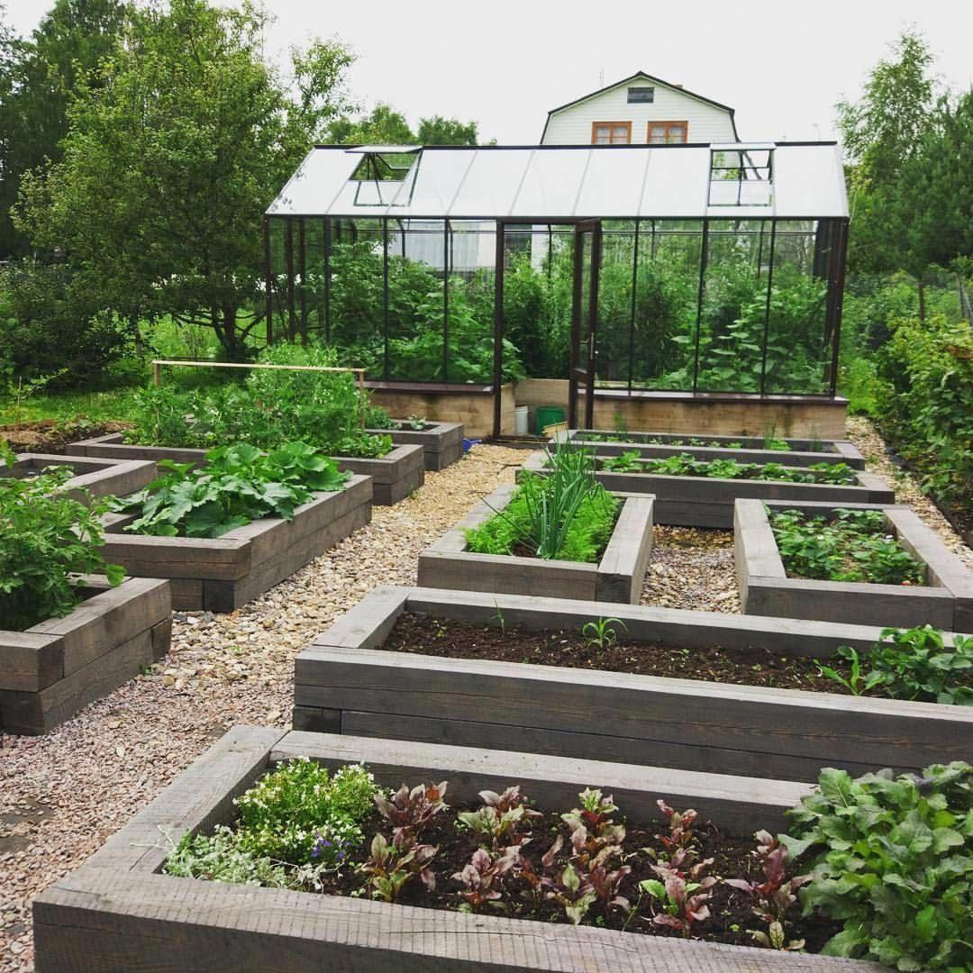 Potager Garden Design Ideas: A Garden Full Of Raised Beds