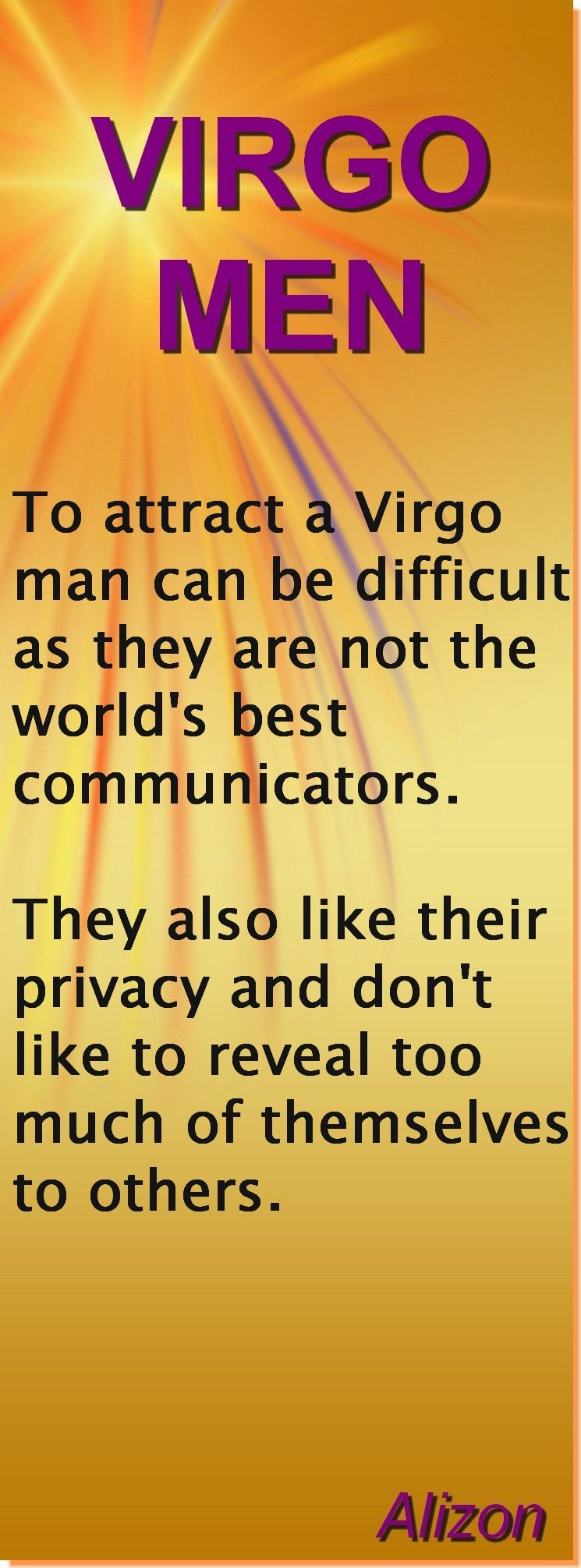 how to attract a virgo man sexually