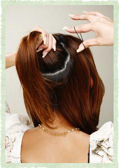 雨の日のすっきりヘアアレンジ 湿気に負けない髪型 ヘアスタイリング 美髪 ヘアスタイル ロング