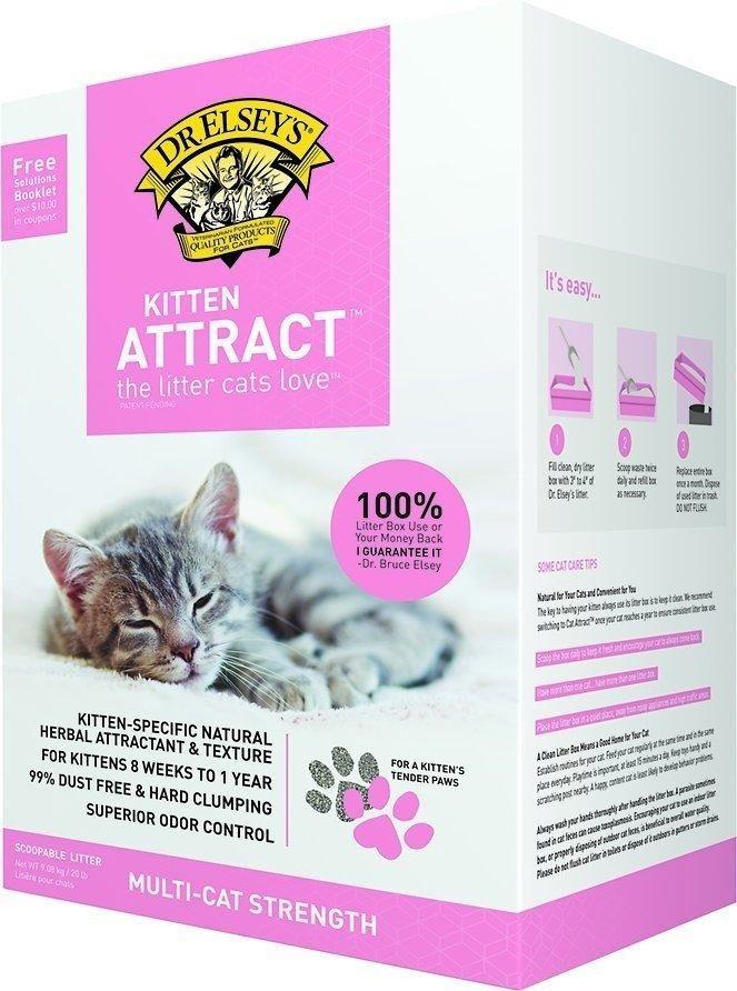 Dr Elsey S Kitten Attract Training Cat Litter With Images Cats And Kittens Kittens Cat Litter